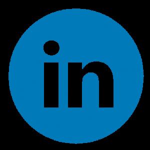 Circle, linkedin, logo, media, network, share, social icon |Linkedin Icon Circle