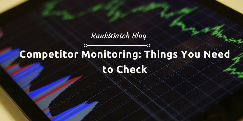 check competitor monitoring