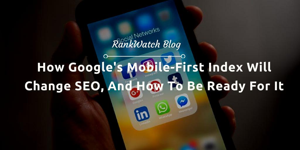 google mobile index