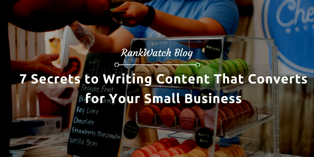 Writing Content That Converts for Your Small Business