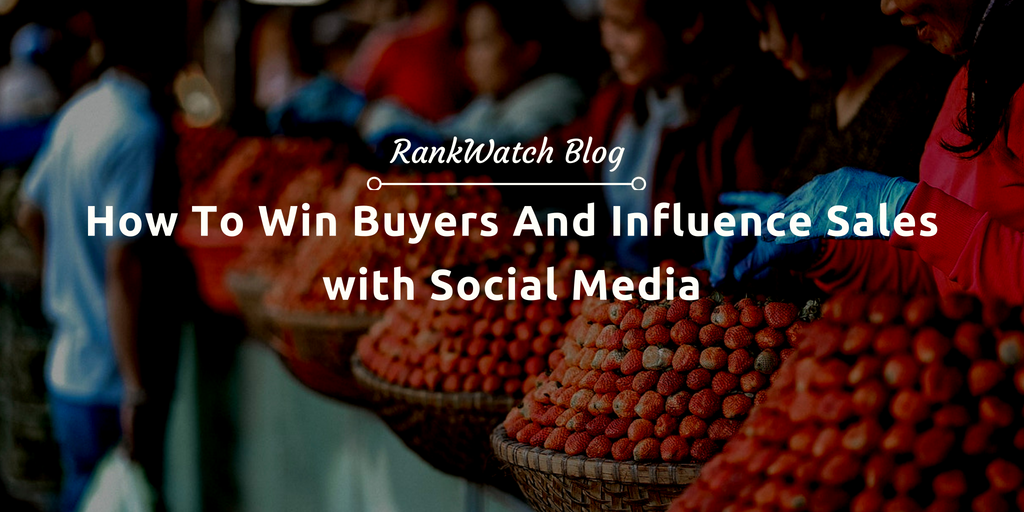 influence sales with social media