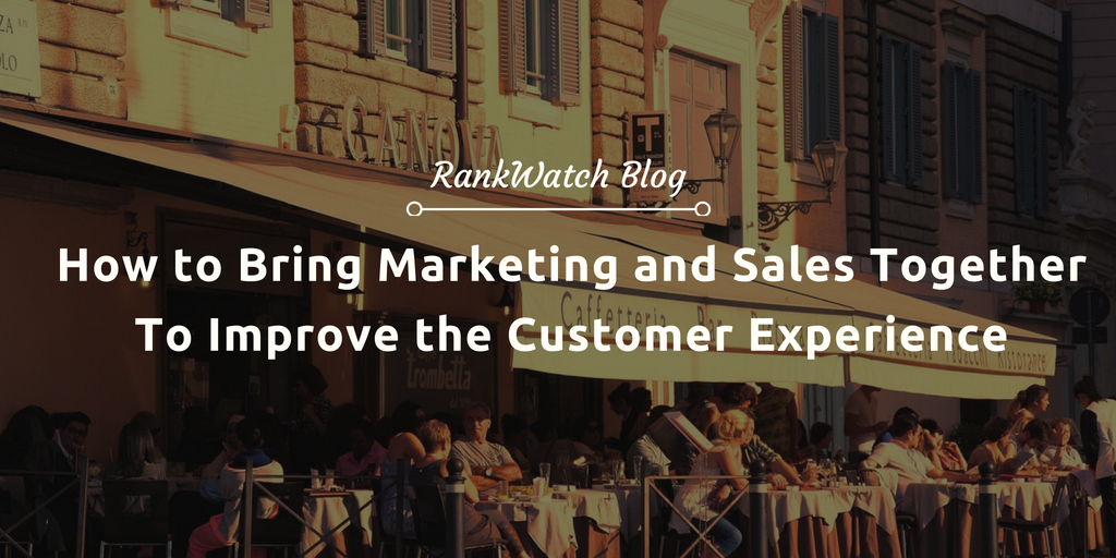 marketing and sales to improve customer experience