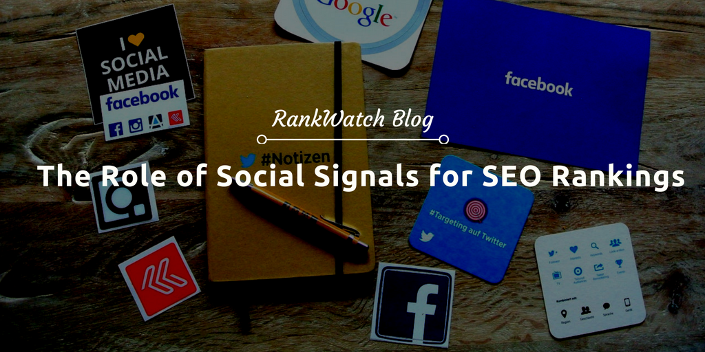 social signals for seo rankings