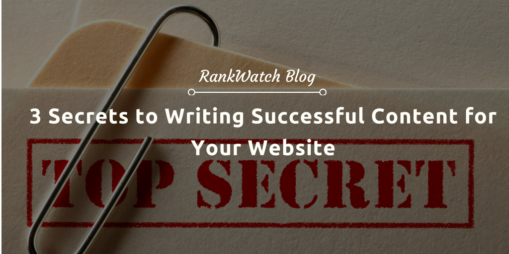 how to write content on website
