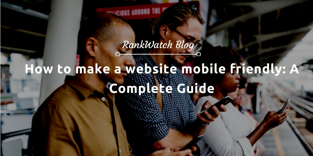 make a website mobile friendly