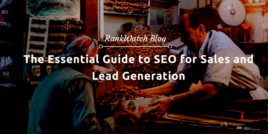 seo for sales and lead genenration