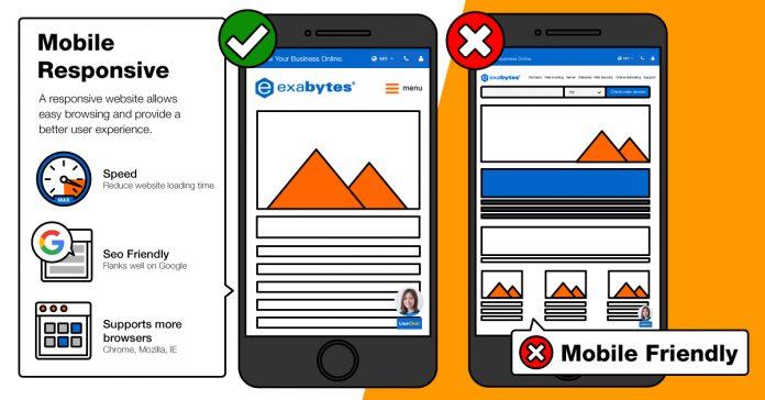 make a website mobile friendly
