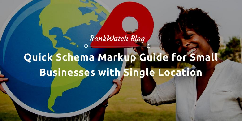 Quick Schema Markup Guide