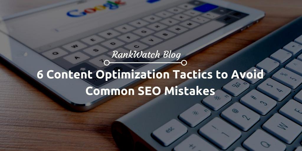 Content Optimization Tactics
