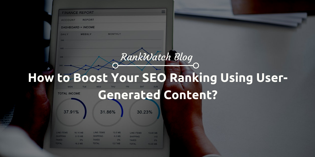 boost your SEO ranking using user content