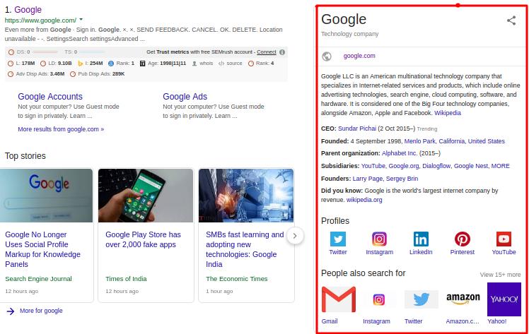 Google Job Postings