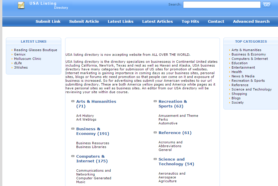 USA-Listing-Directory