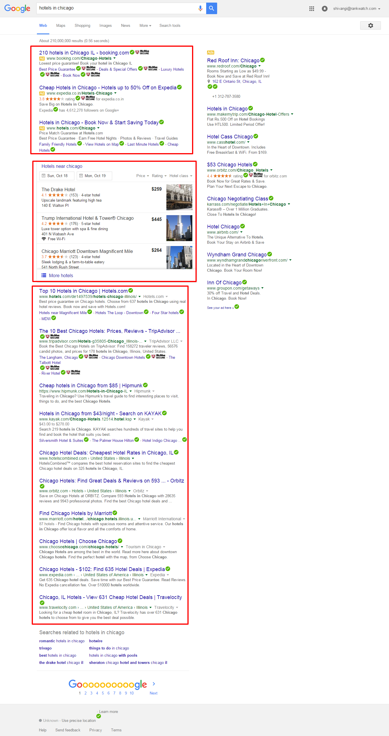 Google-search-results-for-hotels-in-chicago
