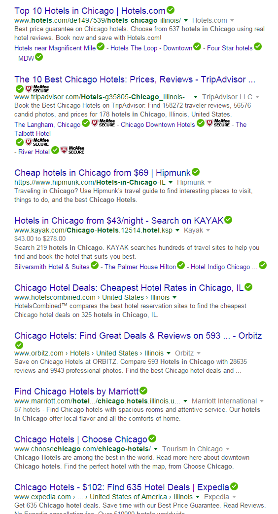 Organic-results-for-hotels-in-chicago