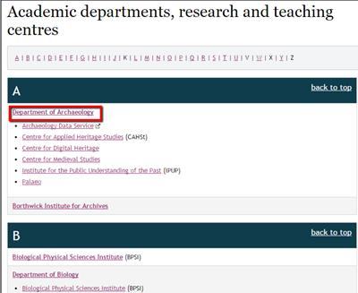 Categories-of-University-of-York